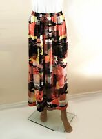 ex M&S Abstract Print Casual Maxi Skirt
