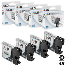 LD © for Brother LC-65 LC65 4pk HY Black MFC 5890CN 5895CW 6490CW 6890CDW