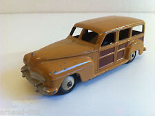 Dinky Toys - 27 F / 344 - Plymouth Woody Estate car