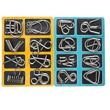 Mercurry Iq Toys Iq Test Mind Game Toys Brain Teaser Metal Wire Puzzles Magic Ne