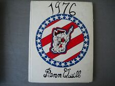 1976 William Penn High School Yearbook New Castle Delaware Penn Quill