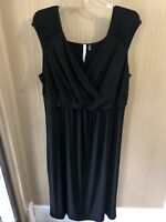 Women's Plus Size Ny Collection Black Maxi Long Dress Size 3X