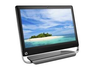 "HP 320-1120A AIO A4-3400 4GB 500GB DVDRW WIFI WEBCAM Win 10 20"""