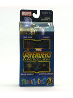 Marvel Minimates Avengers Infinity War Box Set Iron Man Thanos Black Widow New
