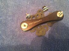 Key smart key bar aluminum black keychain edc pocket clip key organizer nice!!!