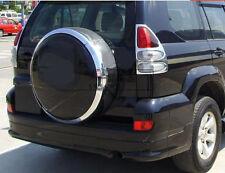 2x Chrome Rear Light Cover Tail Lamp Frame Trim For Toyota Prado Fj120 2003-2009