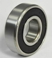 """(10 QTY) R2-2RS Rubber Sealed Deep Groove Ball Bearing - 1/8"""" x 3/8"""" x 5/32"""""""