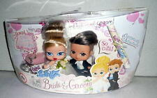 MGA Target Exclusive Bratz Babyz BRIDE & GROOM W/Real Diamond Ring *NRFB