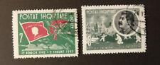 Albanien/Albania 1963 Schlacht von Stalingrad 725-726 o/Used