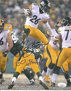 Leveon Bell Autographed 8 x 10 Jsa Go Steelers Inscription