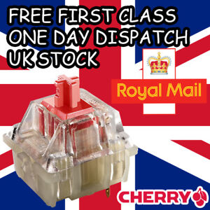 5 x NEW Cherry MX Red RGB Switches Replacement Tester Genuine Cherry UK Stock