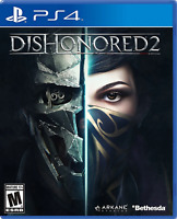 Dishonored 2 PS4 (Sony PlayStation 4, 2016) Brand New - Region Free