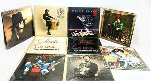 Lot of 9 Chick Corea Vinyl LP Record Albums: My Spanish Heart/Piano Improv ++ EX