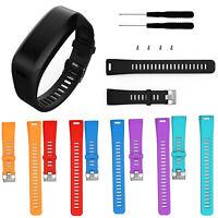 Sport Silikon Armband Uhrenarmband Für Garmin Vivosmart HR Uhr Strap mit Tool
