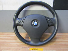 LEDERLENKRAD + BMW 3er E90 E91 E92 E93 + Airbag Komplett Multifunktionstasten
