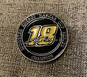 Kyle Busch 2x Champion Coin NASCAR NEW Challenge Coin Free Ship