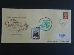 RWC North Yorkshire Moors Railway Blue Peter 60532 First Day Cover