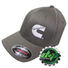 Dodge Cummins Charcoal Gray Ball cap fitted flex fit stretch cummings Hat s/m