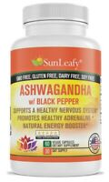 Ashwagandha Strong Stress Control Adaptogen 1300 mg per Serving – Made in USA –