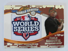 2014 Topps Update Series World Series MVP Patches #WSP-PS Pablo Sandoval