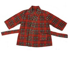 Children Tradition Scottish Tartan Fleece Dressing Gown Design New