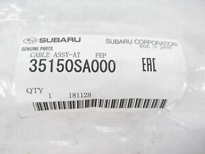 Genuine OEM Subaru 35150SA000 Automatic Trans Shifter Cable 2004-2008 Forester