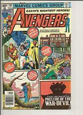THE AVENGERS #197 VG VERY GOOD WHITE PAGES BRONZE AGE COMIC 1980 MARVEL COMICS