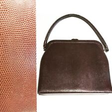 Vintage Lizard Skin Purse beautiful 50's 60's Brown