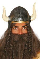 Ladies Mens Adult Viking Warrior History Fancy Dress Costume Outfit Helmet Hat