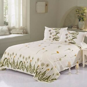 1PCS Home Bedroom Set Comfortable Polyester Bed Sheets + 2 Pillowcases