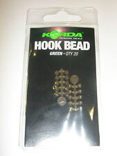 Korda Hook Beads 20pk GREEN Carp fishing tackle