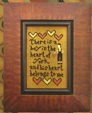 "Carriage House Samplings ""His Heart Belongs to Me"" Pattern"