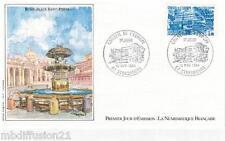 1984*ENVELOPPE ILLUSTRE*FDC 1°JOUR**CONSEIL DE L'EUROPE-ROME**TIMBRE Y/T 84