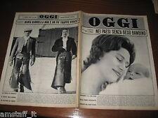 RIVISTA OGGI 1961/49=MARGARET=BRIGITTE BARDOT=SOFIA LOREN=MARIA GABRIELLA SAVOIA