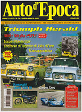 AUTO D'EPOCA 7-8/2003 TRIUMPH HERALD / VITESSE – KAWASAKI 500 MACH III H1