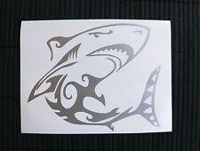 adesivo SQUALO auto moto wall sticker decal vynil vinile SHARK vetro window