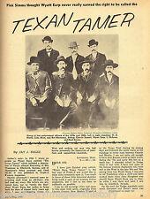 Texan Tamer - Writings of the FronterTexas Lawmen