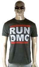 Amplified Run DMC logotipo hiphop estrella de rock destroyed vintage agujeros t-shirt m 48
