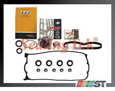 Fit D16Z6 VTEC Engine Timing Belt Kit Water Pump w/ Valve Cover Gasket Oil Seals