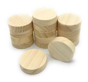 Querholzplättchen Fichte 35 mm Durchmesser Konusplättchen 15 stk. Holzplättchen