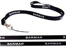 Barman Quality satin lanyard, neck strap ideal for mobile id keys mp3 Usb Badge