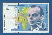 FRANCIA // FRANCE -- 50 FRANCS ( 1994 ) -- BC // F -- PICK 157Aa .