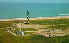 VTG Cape Hatteras Lighthouse Diamond Shoals North Carolina NC Postcard