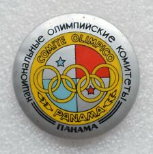 PANAMA Official Emblem 1984 Summer Olympic Games Los Angeles Olympiad