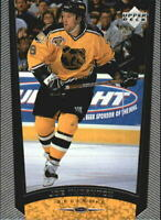 1998-99 Upper Deck Boston Bruins Hockey Card #218 Joe Thornton