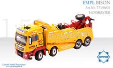 Conrad 77198-01 MAN TGS Euro 6 w/Empl Bison Salvage Body - Hofmeister - 1/50 MIB