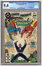 DC Comics Presents 49 (CGC 9.4) White pages; Captain Marvel; Black Adam (j#6353)