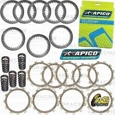 Apico Clutch Kit Steel Friction Plates & Springs For Yamaha YZ 250F 2010 MotoX