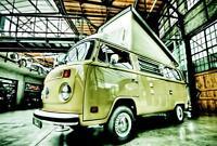 Blechschild, Tin Sign,  20 x 30 cm, VW Bus, Nostalgie