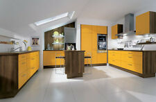 Flat Pack Kitchen, add some colour, Complete